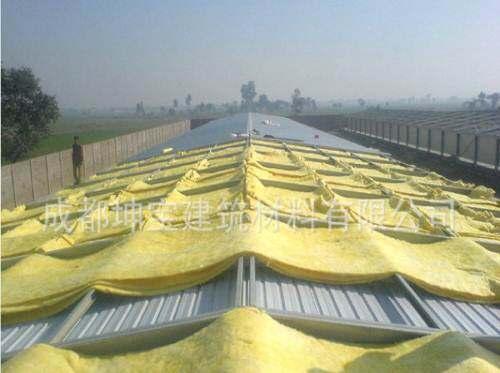 钢结构专用玻璃棉毡5厘米厚玻璃棉毡密度