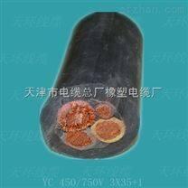 YZW户外橡套线300/500V耐油污软电缆2*2.5