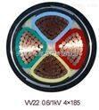 优质VV电缆VV-3*185+2*70电力电缆国标价格