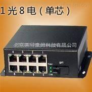 LC-ETB1800-8電口百兆單芯收發器