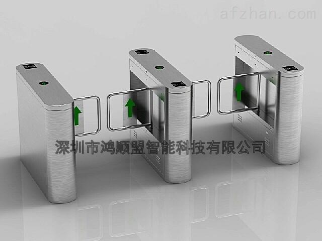 工厂进出摆闸 商场智能通道闸机管理系统设计方案 感应摆闸