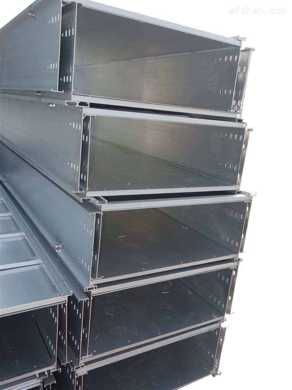 可定制 铝合金电缆桥架 槽式,梯式,托盘式 铝合金桥架图片