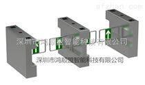 工厂摆闸机系统 桥式圆弧摆闸 商场考勤管理方案