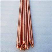 寧夏吳忠固原中衛銅包鋼接地棒鍍銅接地極銅覆鋼接地棒