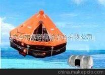 船舶救生设备:自扶正气胀救生筏