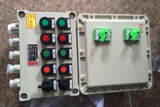 37kw-11kw正反转电机防爆电控箱