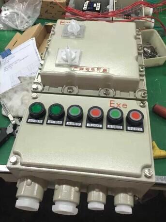 0.37kw-11kw正反转电机防爆电控箱