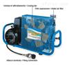 MCH6意大利原装进口呼吸器充气泵 MCH6空气充装机 科尔奇空气压缩机