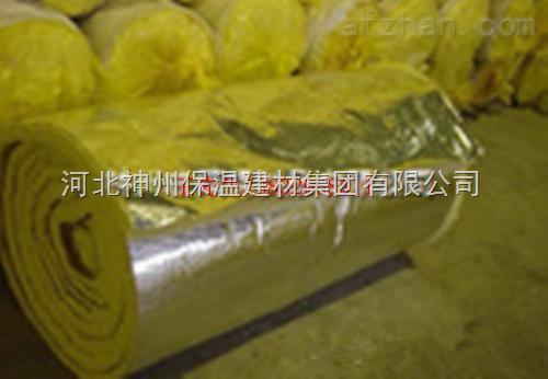 玻璃纤维卷毡 定州玻璃棉保温毡 保温棉 A级防火材料