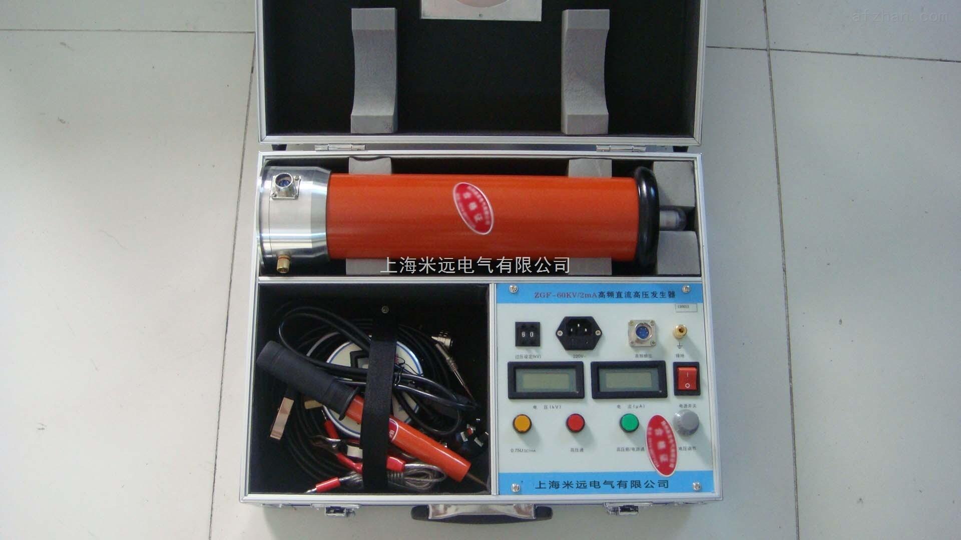 电力电缆,变压器,发电机等高压电气设备进行直流耐压试验.