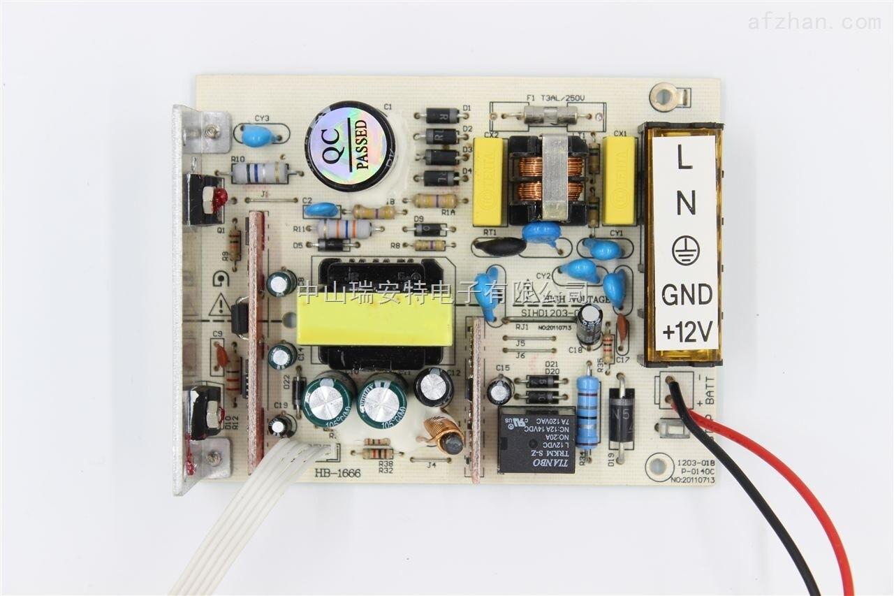 技术参数 输入电压: 190-240v ac  @ 50-60hz 输出电压: 12v&plusmn