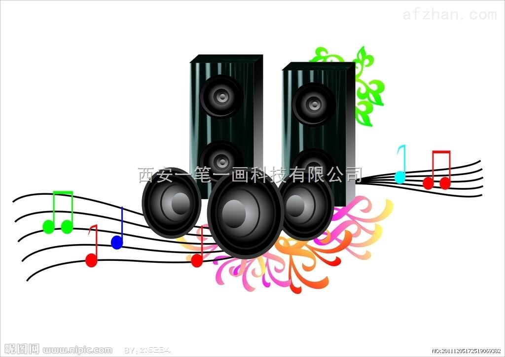 rp-l5200w 西安航天广电音响功放 室内外音响 音响周边设备