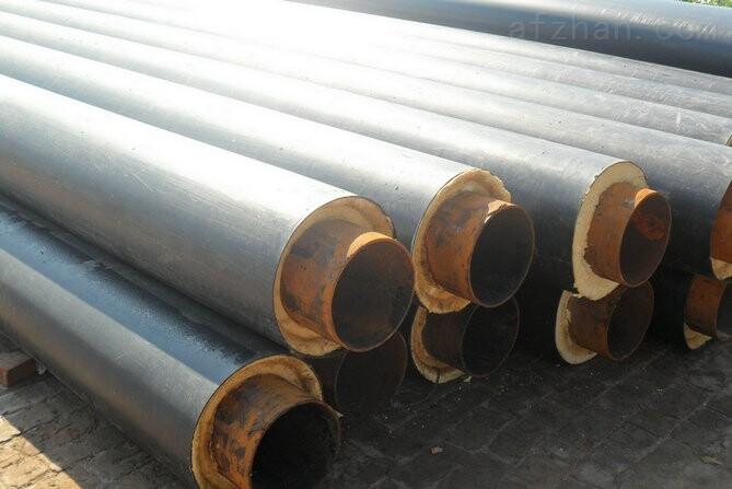 钢套钢直埋保温管,预制聚氨酯直埋保温管