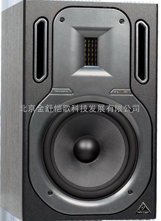 """百灵达B2030A 监听音箱录音室单6.5寸有源监听音响 产品特点: 超线性的频率响应从50赫兹到21千赫个别频率图 内置125-watt双向放大器模块具有巨大的功率储备 超高分辨率ferrofluid-cooled高音 长程6""""低音¾专用聚丙烯隔膜和抗变形铝合金底盘 可控色散特性和非常大的""""甜蜜"""",由于其独特的百灵达导波技术 有源分频网络与第四阶林克维兹·瑞利滤波器 可调范围广泛的声学条件和低音炮的操作 单独控制的限高低频过载保护 磁屏蔽允"""