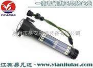LED多功能车载应急强光小手电,防爆户外太阳能强光手电筒带逃生锤