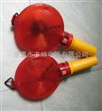 LED交通警示灯 路障施工灯 手持双面闪光灯