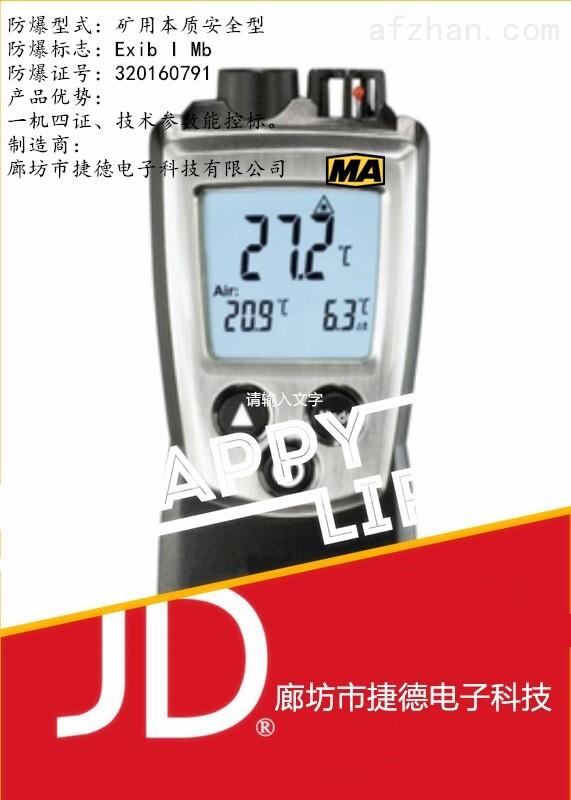 YWSD100/100矿用温湿度检测仪