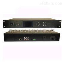 机架式网络广播系统厂家带显示屏点播终端设备公共广播厂家