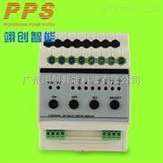 ET-0416A-4路16A开关执行模块灯光照明控制系统可接AMX快思聪中控主机
