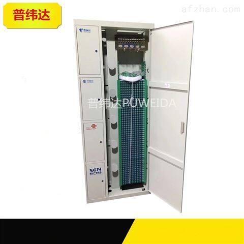 288芯四网合一共享配线柜结构技术