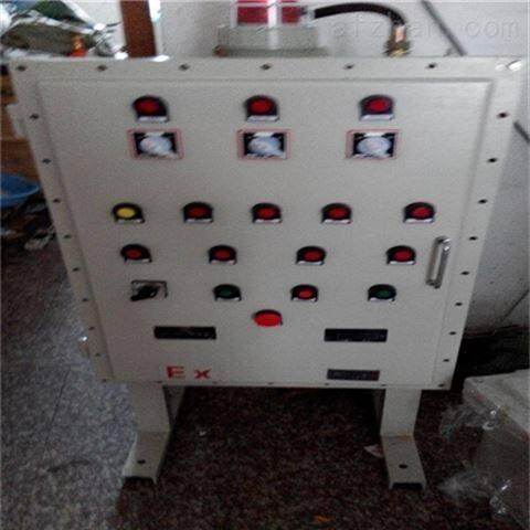 带拉手式碳钢焊接防爆配电箱柜
