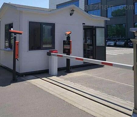 遼陽停車場車牌自動識別系統