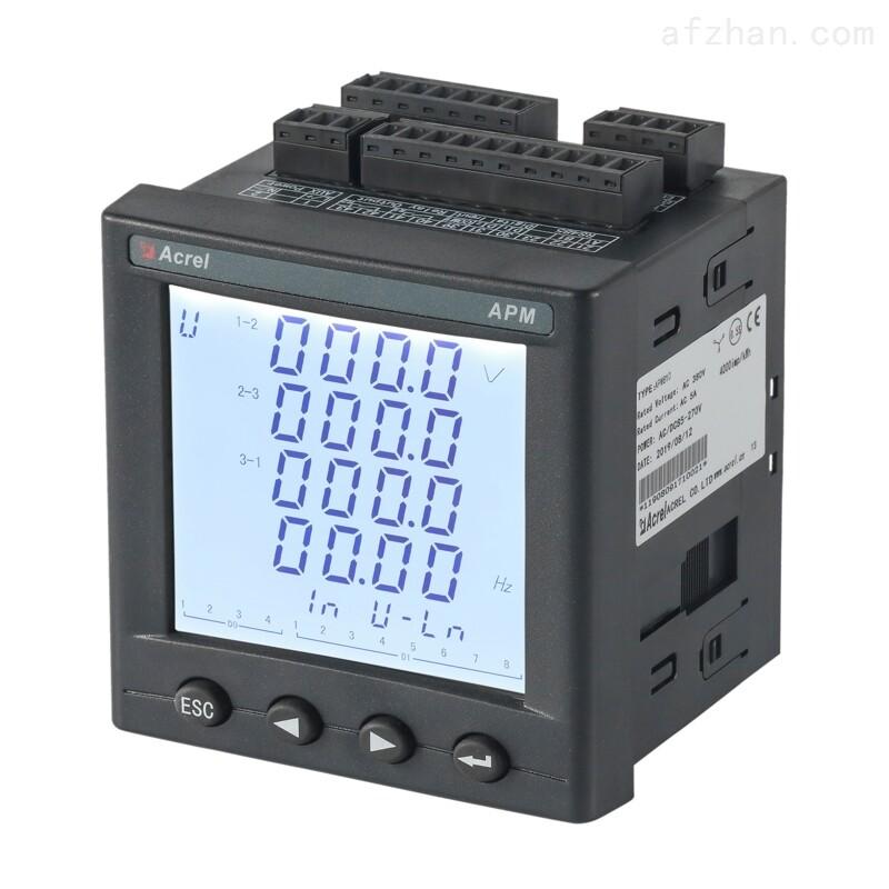 智能多回路测控仪 0.5S级  2-63次谐波测量
