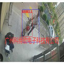 小区单元楼门口电动车识别联动门禁摄像机