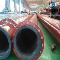DN300钢衬超高分子耐磨尾矿输送管道