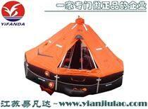 船用高拋自扶正救生筏氣脹式自充氣救援筏