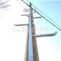 热镀锌抱箍式固定电杆爬梯 爬梯定制厂家