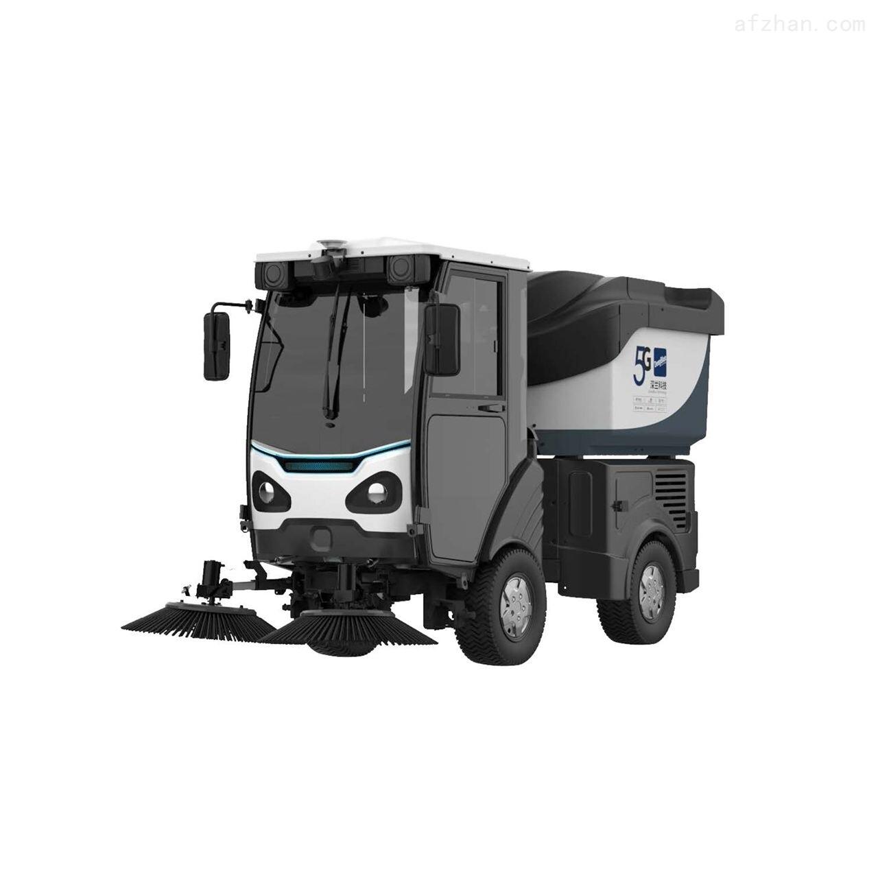 深兰科技AI智能扫路机——熊猫扫路王
