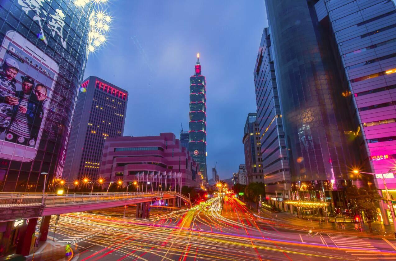 蓝卡视频车位引导走进宝岛台湾