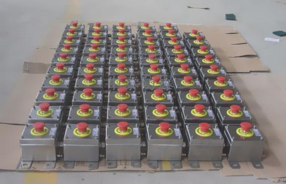 不锈钢防爆控制按钮盒(远程控制电机)