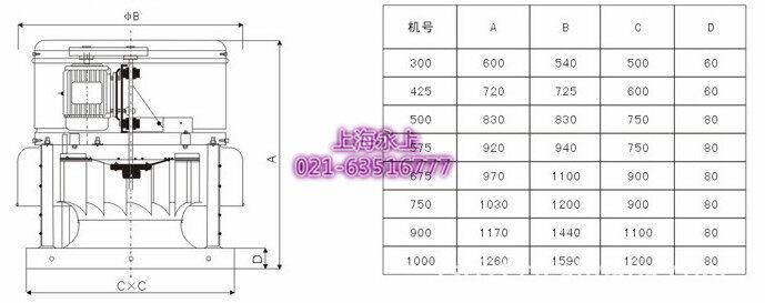 车间排风机电路原理图