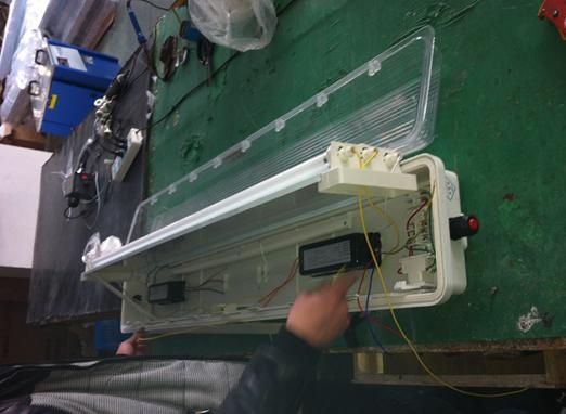 36v220v127vled防爆防腐荧光灯带应急内部设有接线