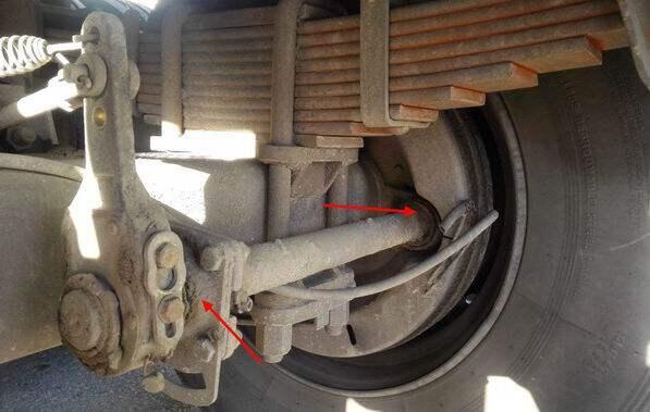 货车气刹鼓结构图