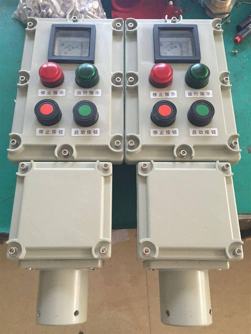 有电流表的操作柱还可对电机运行或电路情况进行监测之用,也可对水泵