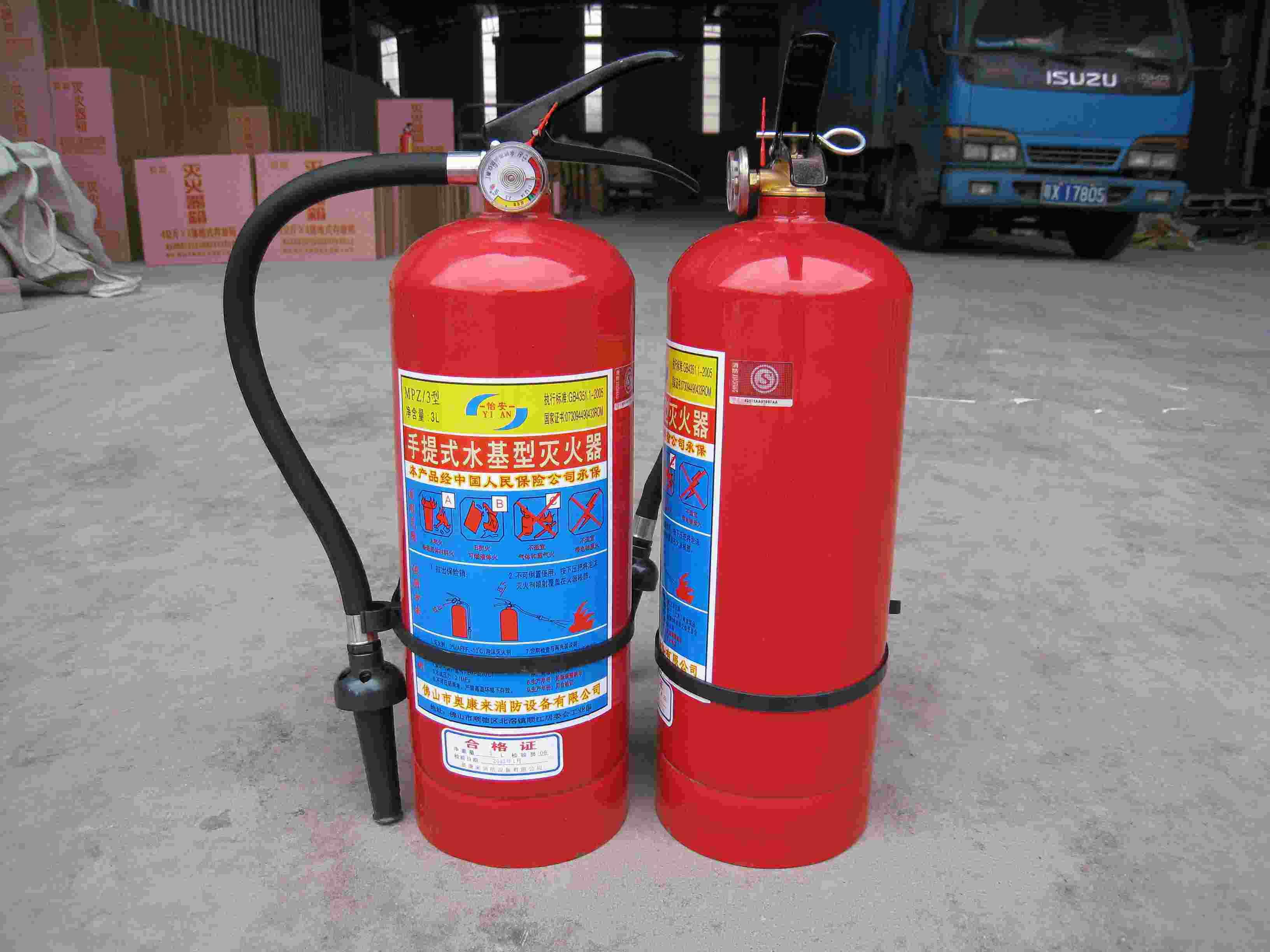 35公斤灭火器-用于消防的高倍数泡沫灭火剂有多少种