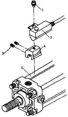 smc磁性开关如何安装原气缸上方法?