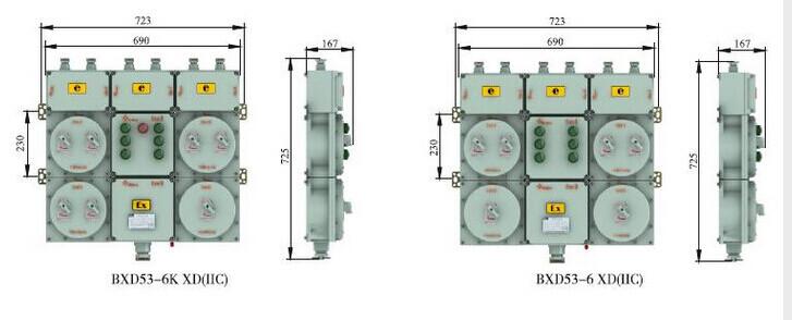 防爆照明配电箱电气图 防爆配电箱电气图设计