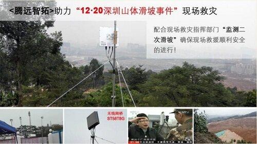 山体滑坡并联电路监测器实物图