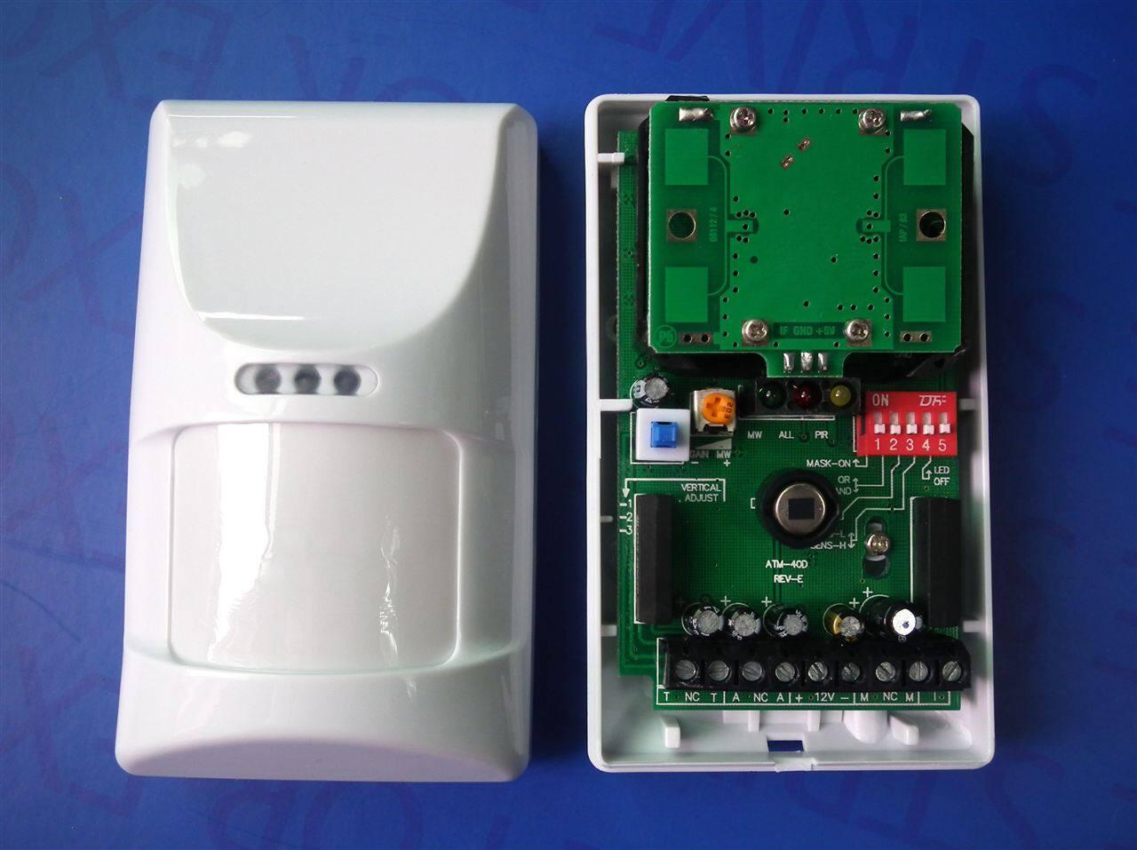 产品库 防盗报警 探测器 红外探测器 atm-40d 双鉴被动红外入侵探测器