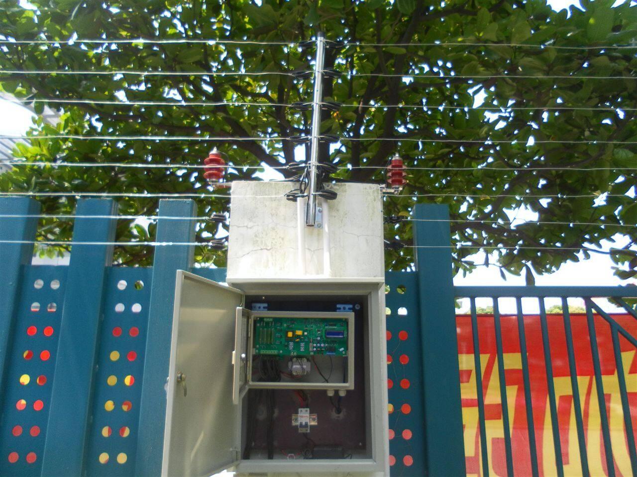 防盗报警脉冲电子围栏系统