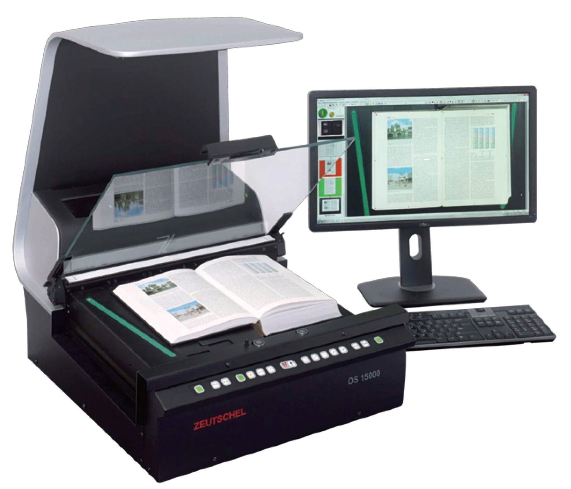 书刊档案扫描仪打造无围墙的学校_书刊扫描