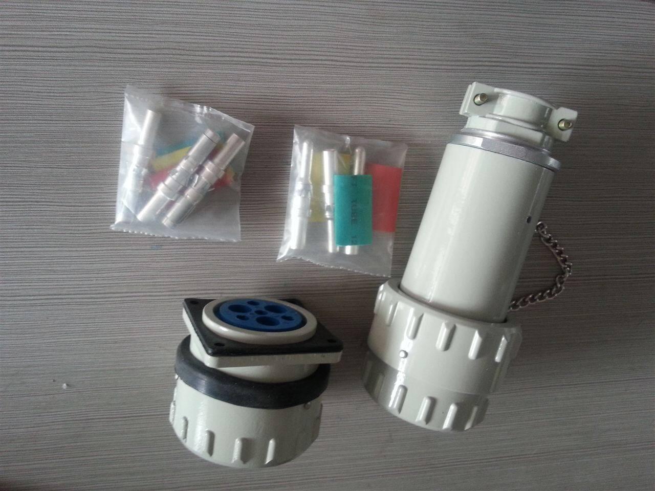 22KW电机使用的防爆电缆插头插座需要多大的电流 60A 3芯 BJ60YT GZ 3