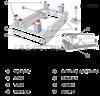 SCS系列开关量控制钢瓶秤化工专为钢瓶计量称重圆罐秤电子秤